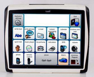Tobii C12 augmentative communication device