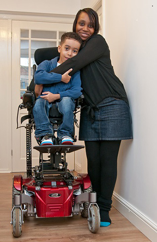 Child with Muscular Dystrophy