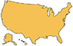 outline of the continental united states alaska and hawaii