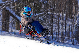 Adaptive Skiing with Outriggers 11/20/18 Flickr CC photo